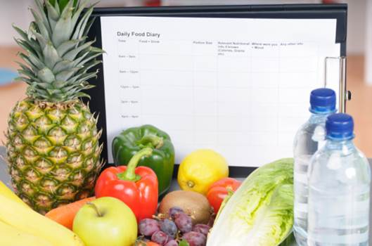 keeping a food diary will help you lose weight