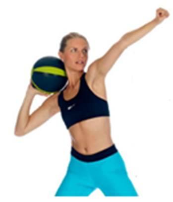 Med-Ball Javelin Throw