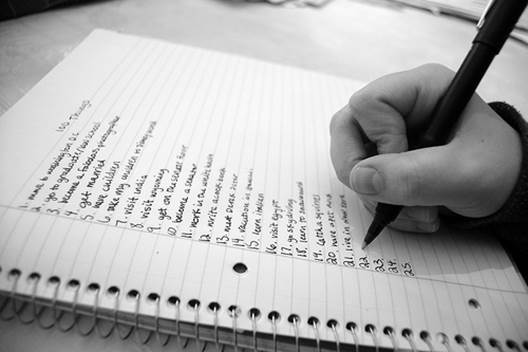make a paper list of what you need to remember or simply give your brain a breather.