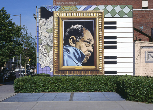 Washington d c around town beyond the city center for Duke ellington mural