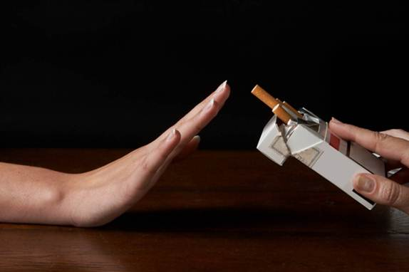 Description: If you're addicted to smoking, consider to quit it.