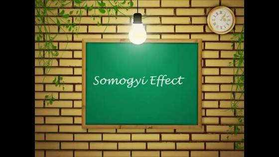Description: The Somogyi can cause high blood sugar in the morning.
