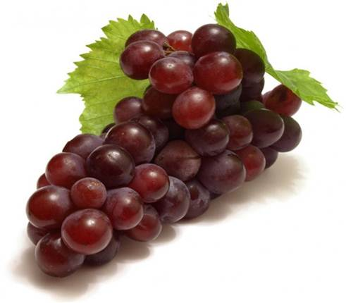 Description: Red grape contains stilbenoid compounds