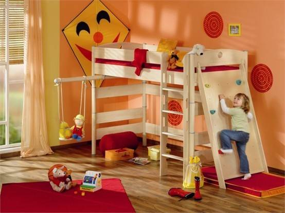 Description: Things are started with a couple of toys misplaced or dirty clothes on the floor.