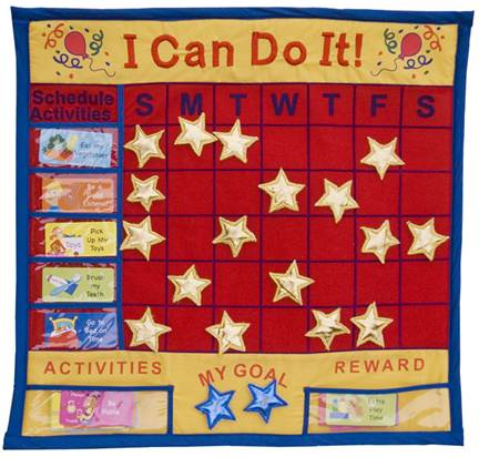 Description: Create a reward chart in case your children need a little motivation to keep their rooms neat.