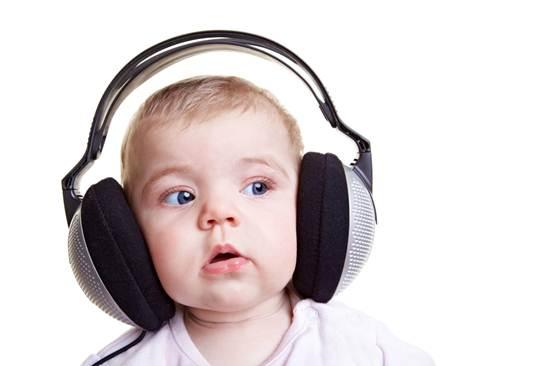 Description: Music can help babies feel sleepy.