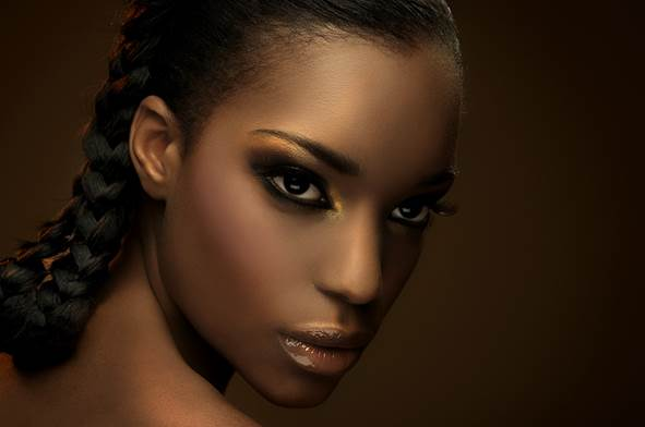 Description: A natural black skin always looks beautiful, but a black skin due to poor care is horrible.