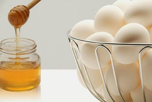 Description: Honey and egg make a moisturizing, nourishing and tightening facial mask