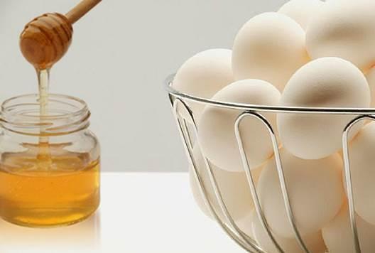 Description: Honey and egg make a moisturizing, nourishing and tightening facial mask