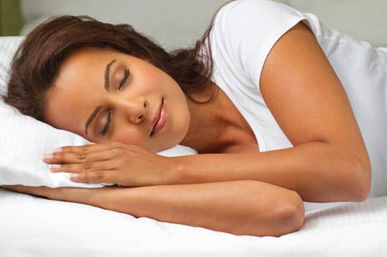 Description: Avoid large meals, caffeine and alcohol before you go to bed