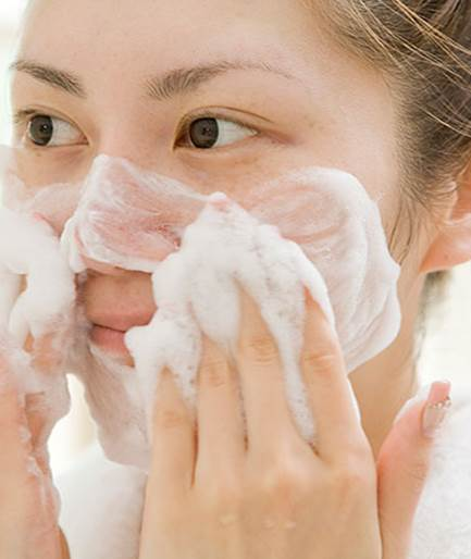 Description: Wash your face twice a day with cleanser