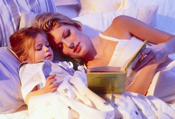 Description: You should read to your baby for at least 30 minutes before going to bed each night