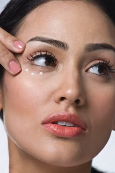 Description: Skin around the eyes is thinner and more sensitive than other places on the body