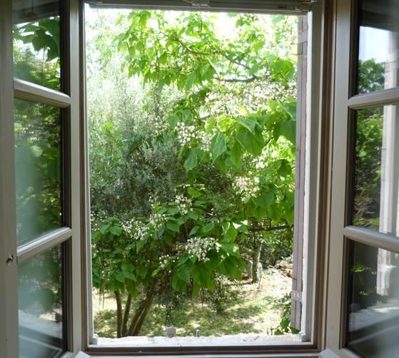 Description: Open the room's windows for ventilation.