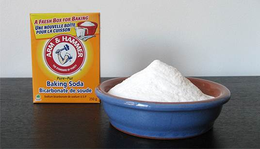 Description: Open a small baking soda box and put in on a shelf or in a corner of the room where is out of children's reach.