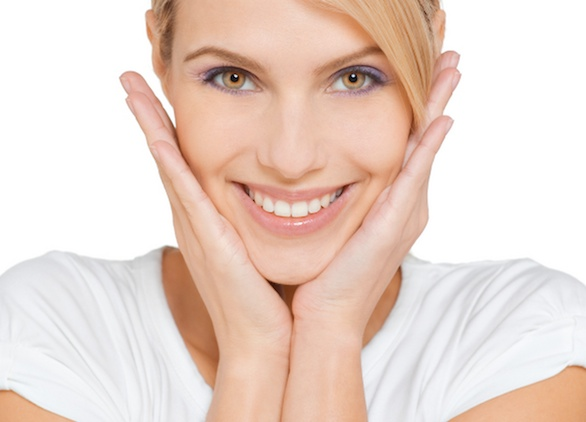 Description: Facial exercise can make your face skin better.
