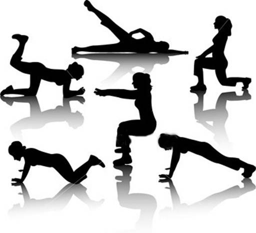 Description: There are many ways to exercise.