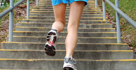 Description: In a crowded area, take the stairs in the morning or late at night when there are fewer people.