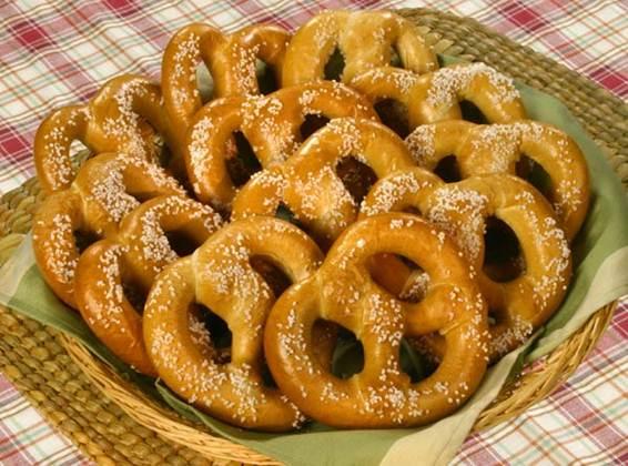 Description: A pretzel maybe delicious, but it isn't a very healthy food.