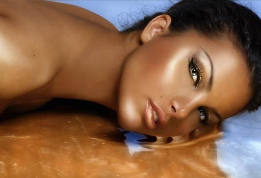 Description: You can also choose copper-colored, olive tone, almond tone or warm brown yellow foundations.