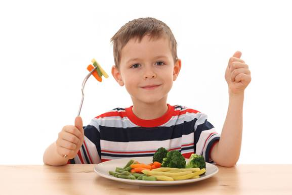Description: You should be determined in serving healthy foods to your children.