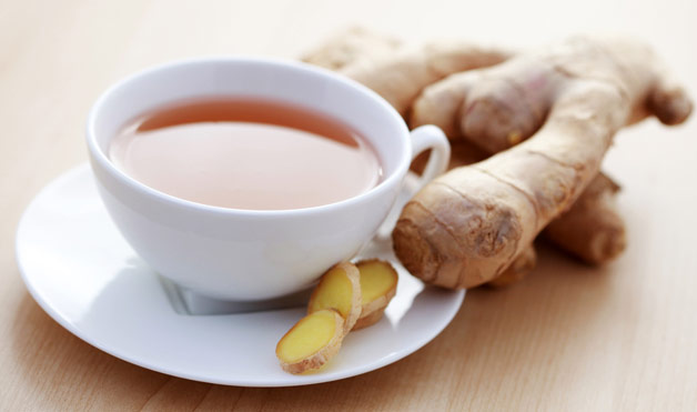 Description: You can use either hot or cold ginger tea as a fat burning drink.