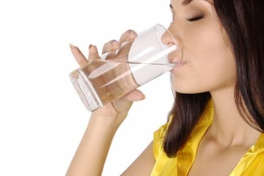 Description: Drink a plenty of water.